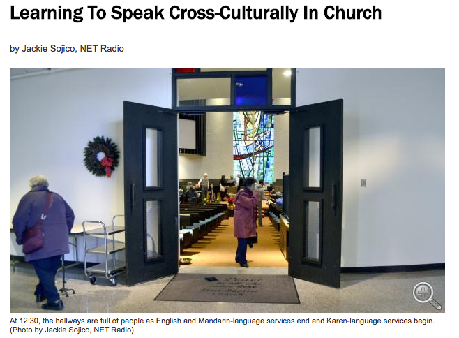 Learning To Speak Cross-Culturally In Church