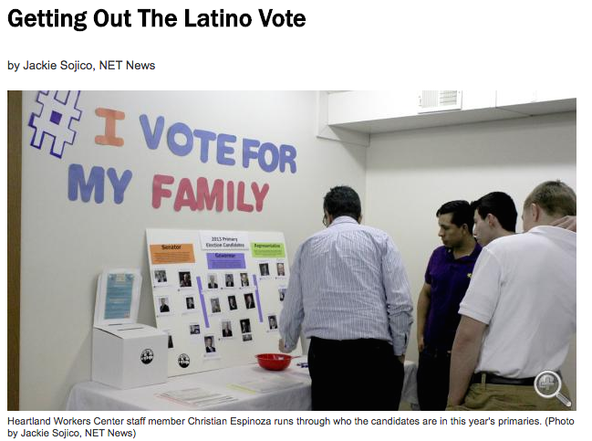 Getting Out The Latino Vote